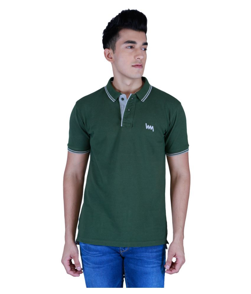 Lawman PG3 Green Cotton T-Shirt Single Pack