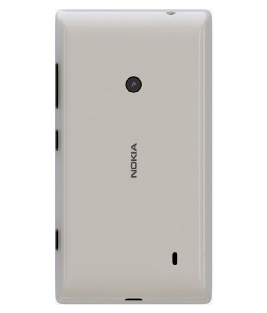 finest selection b4151 d65b3 Nokia Lumia 520 Back Panel By Shinestar-White