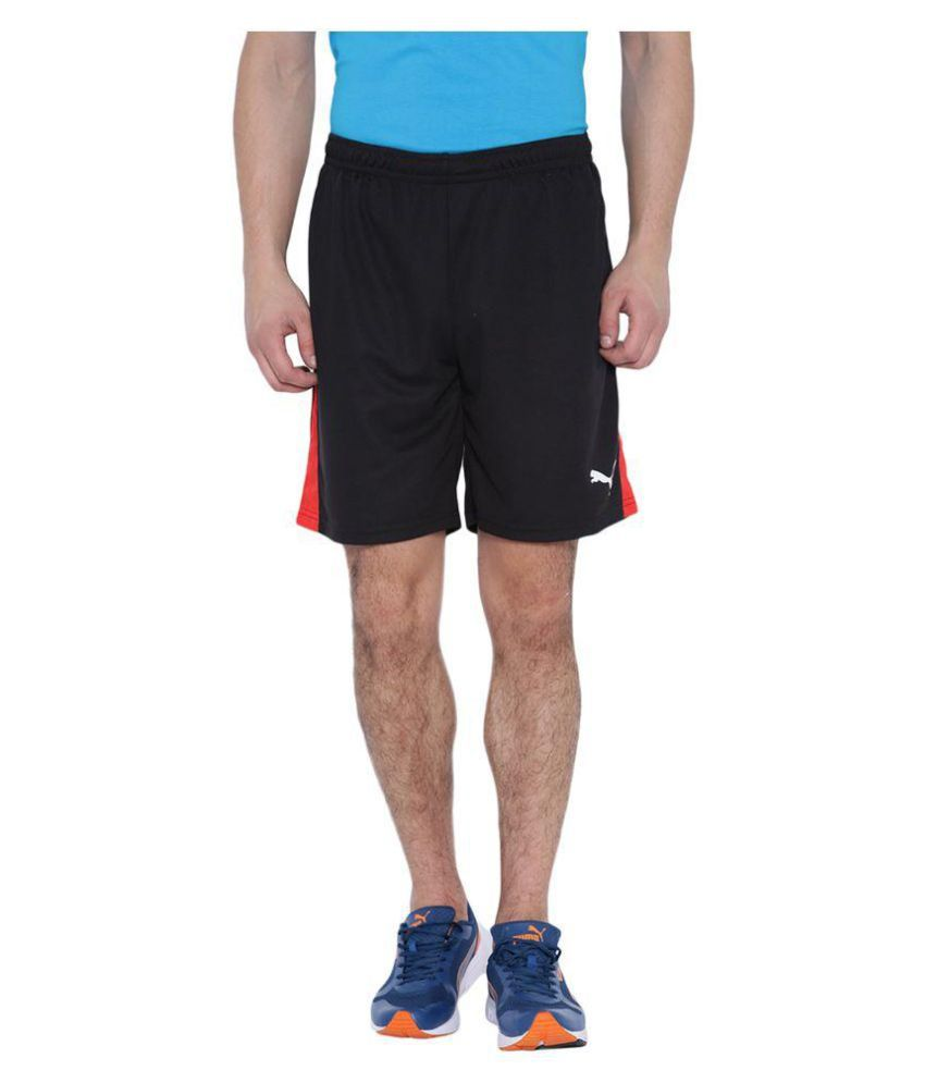 Puma Mens Black Shorts