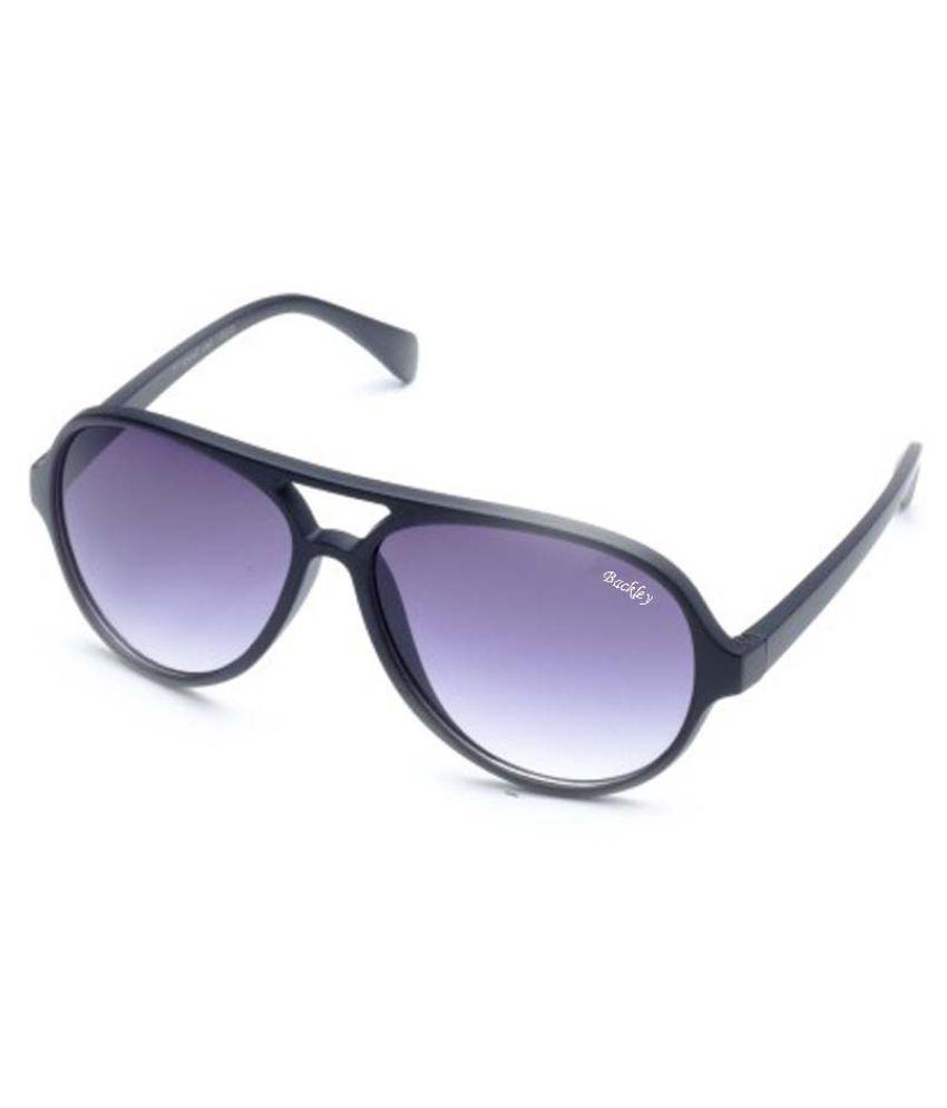 Backley Blue Aviator Sunglasses ( BS-01706 )