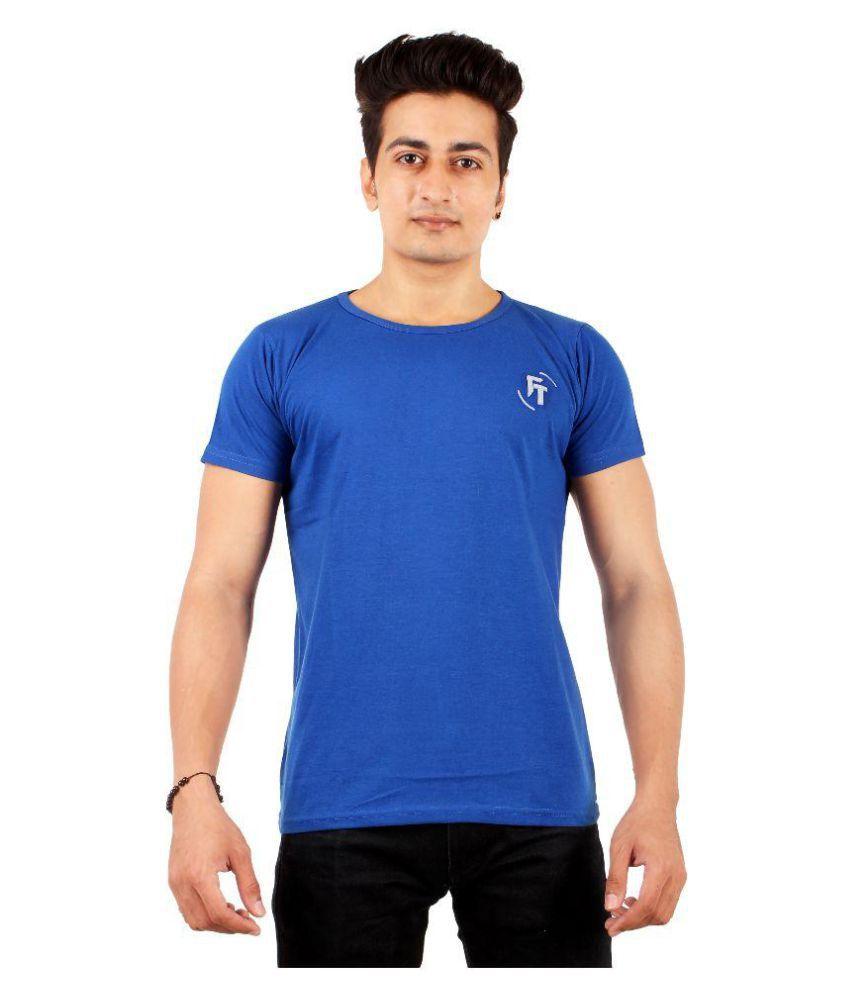 FTrick Royal Blue Round T-Shirt