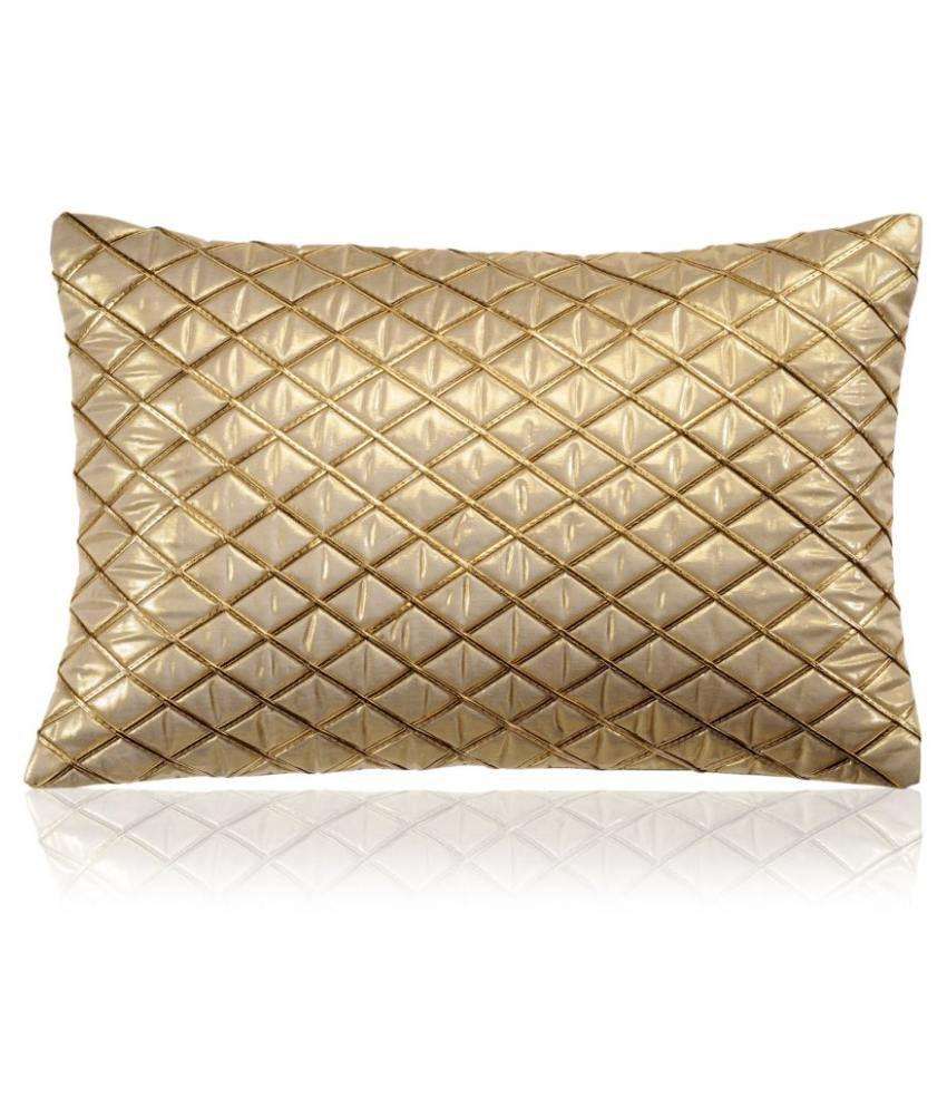 Cloth Fusion Set of 2 Silk Cushion Covers