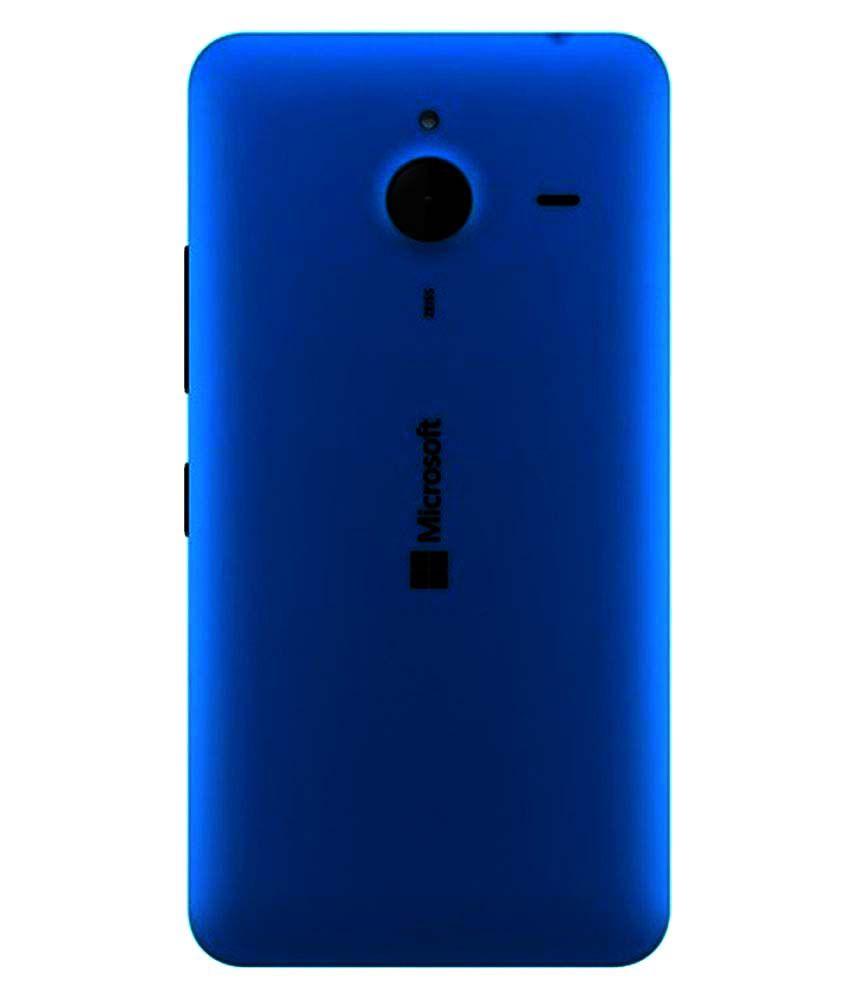 buy popular 8bea7 8340b Microsoft Lumia 640 XL Back Panel by Shinestar - Blue