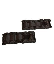 Spanco Set Of 3 Black Ankle/Wrist Weights - 1.5 Kg, 2 Kg & 2.5 Kg