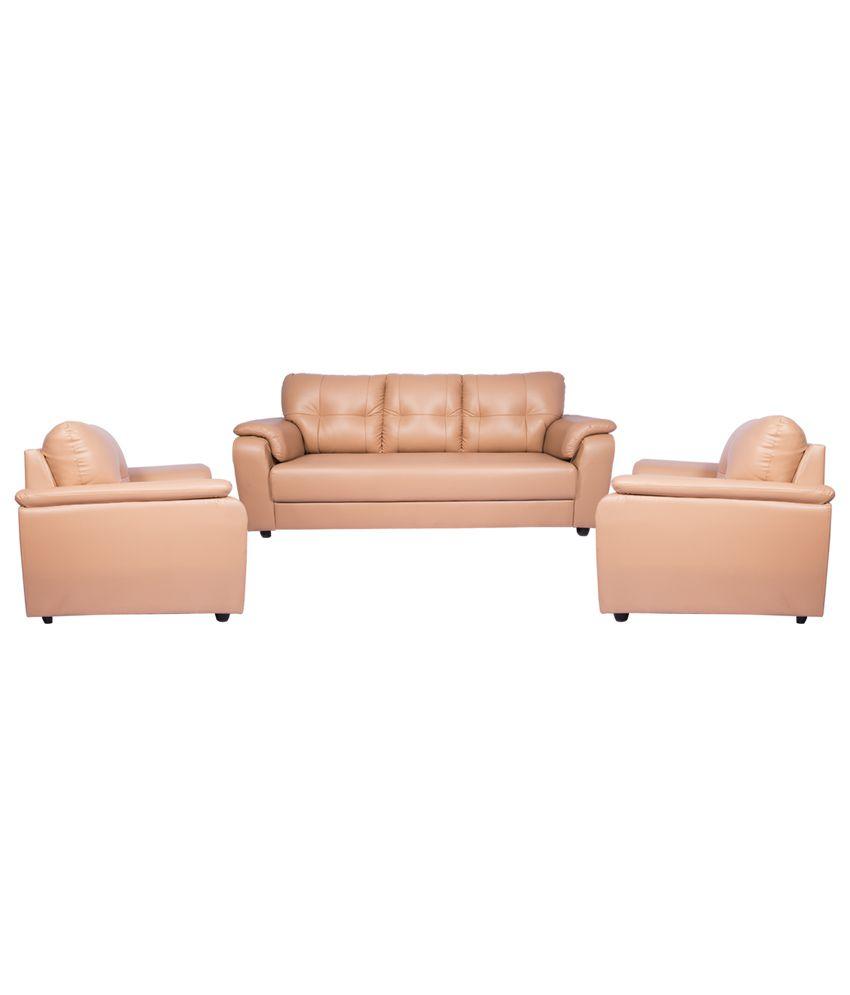 ... Wood Mark Nepton 3+1+1 Sofa Set ...