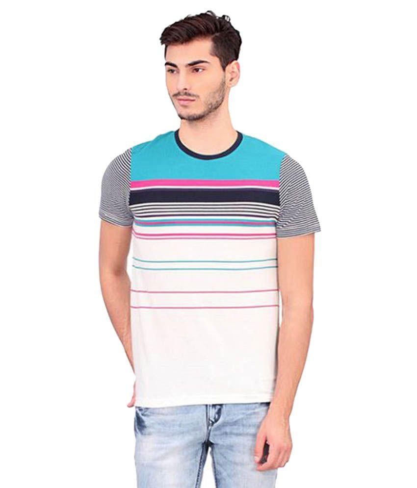 Bonaty White Round T-Shirt