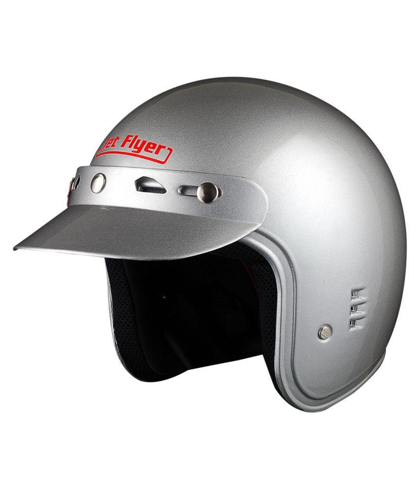 aaron jet flyer with sun peak flip up helmet silver m buy aaron