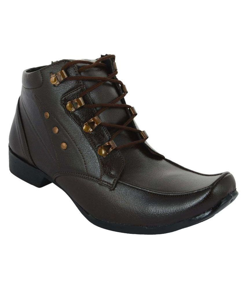 Five S Black Party Boot