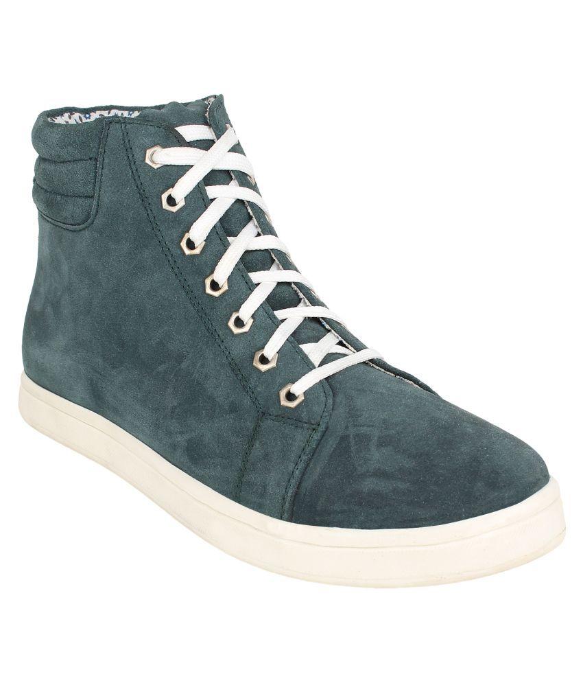 Pruto Green Casual Boot