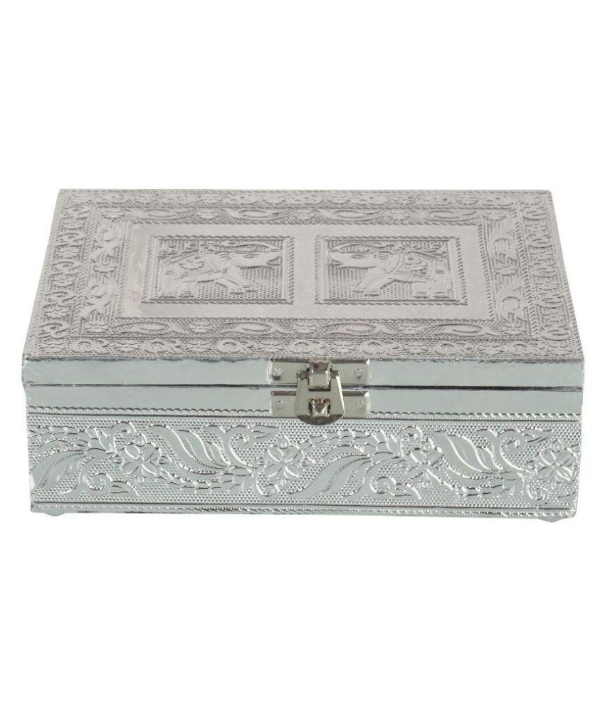 Handicraft Point Silver Jewellery Box