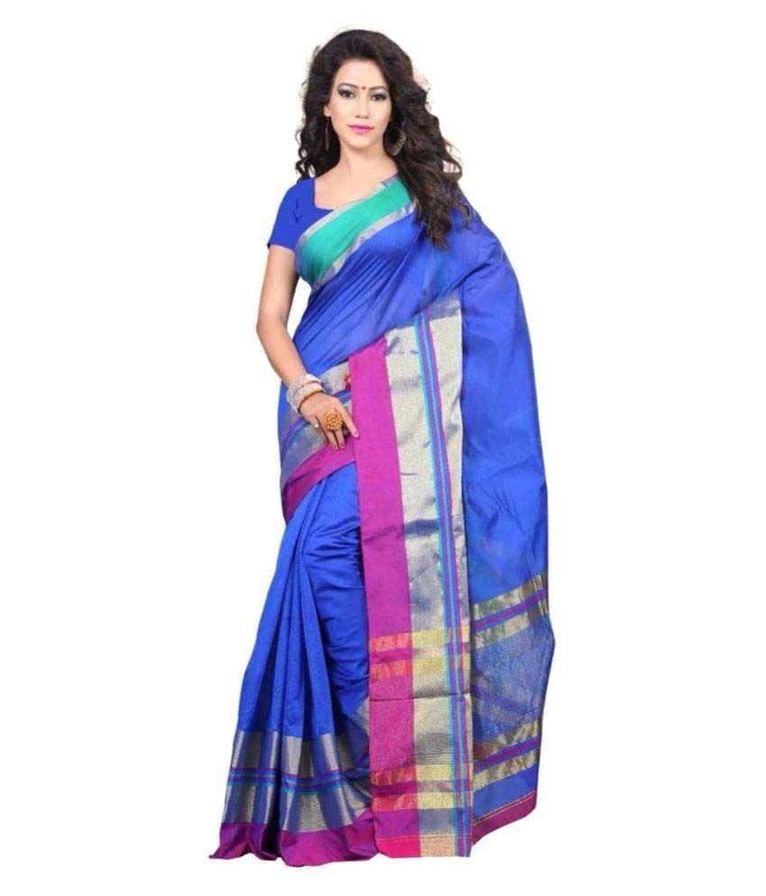 Magneitta Multicoloured Cotton Silk Saree
