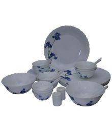 La Opala Ceramic Blue Orchid Cookware Set