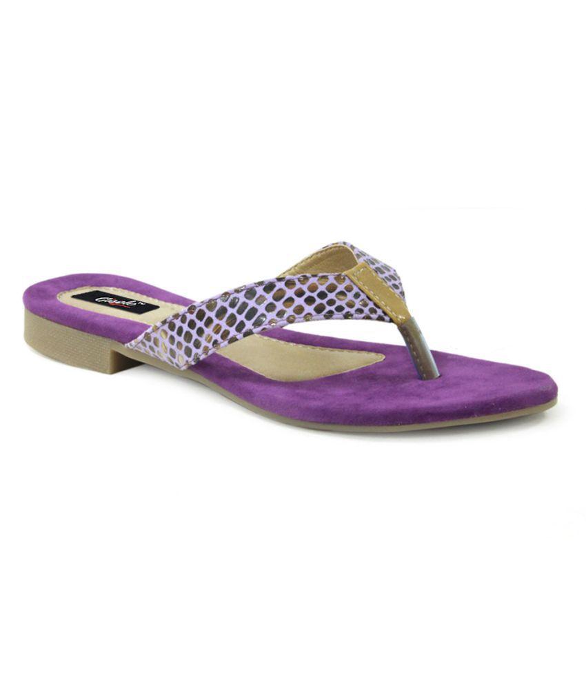 Gisole Purple Flats