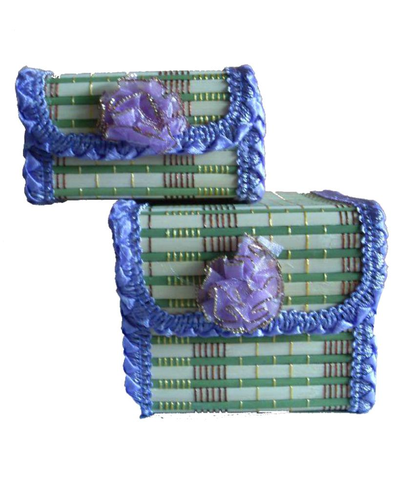 Set of 2 Jewellery Boxes by Ayaanglobal Mart