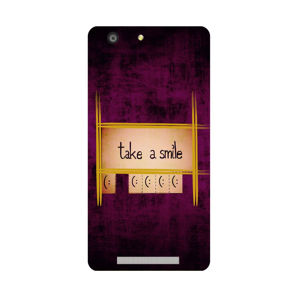 Gionee Marathon M5 Printed Cover By Skintice