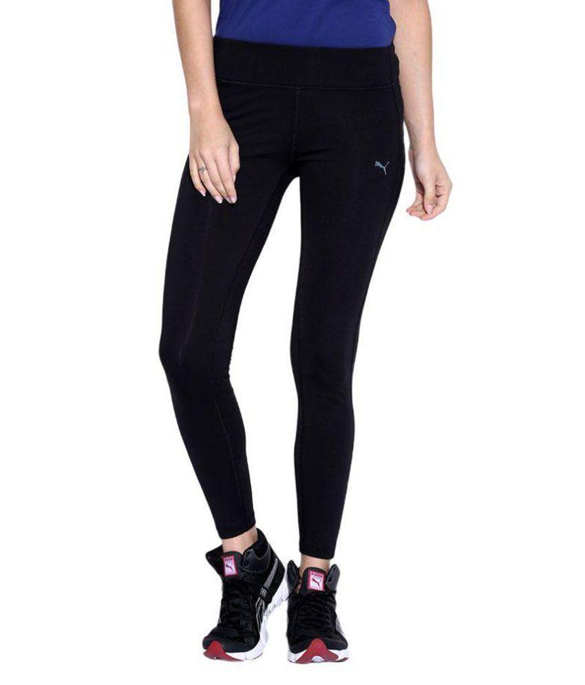 Puma Womens Black WT Essential Lounge Pant