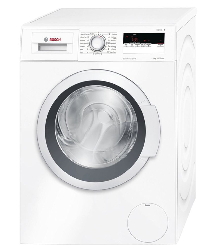 Bosch 7.5 WAT24165IN Fully Automatic Front Load Washing Machine White