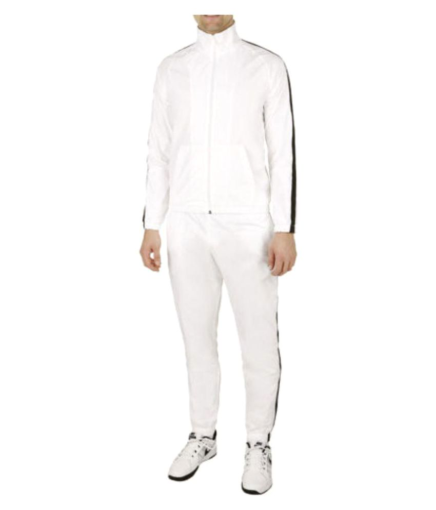 Navex White Polyester Track Suit
