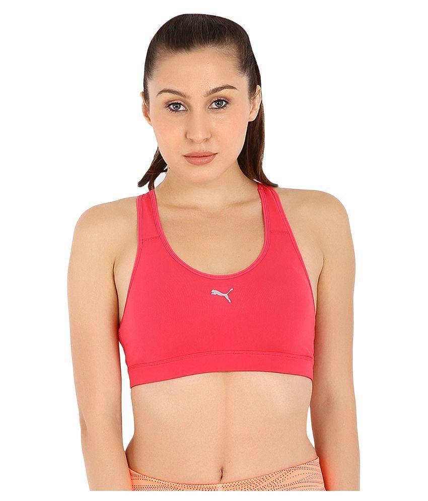 Puma Pink Sports Bra