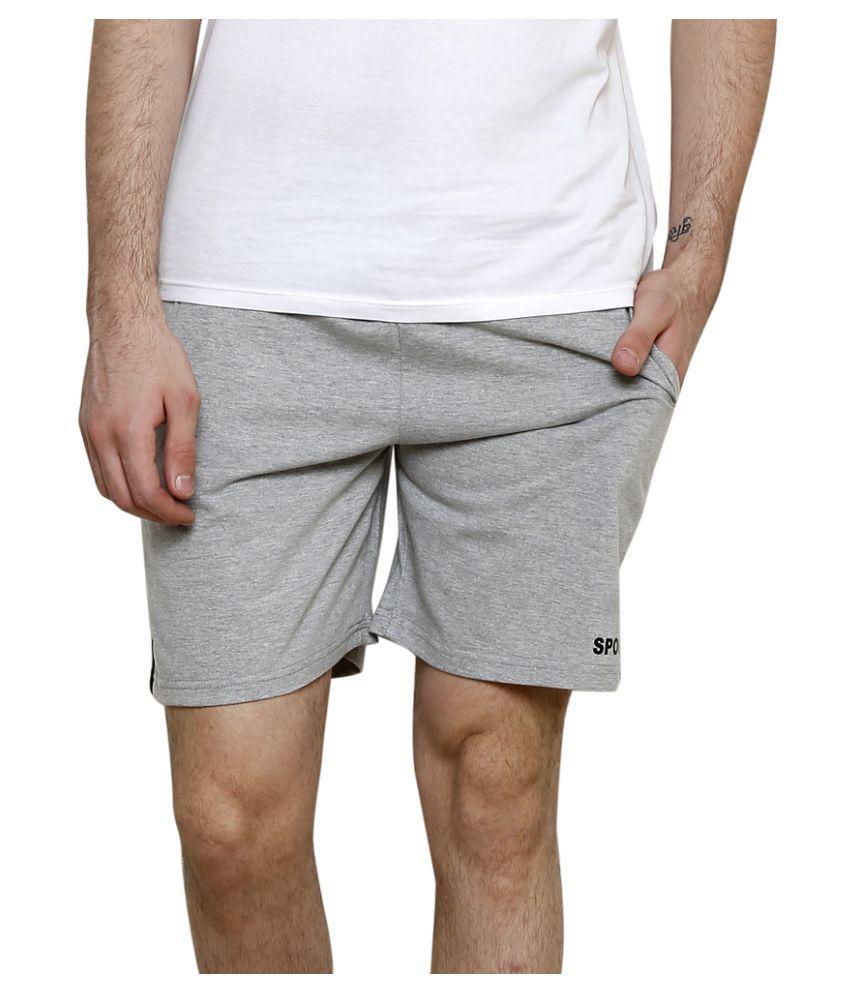 Syda Grey Shorts