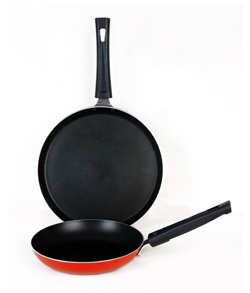 Snapdeal: Crystal Non-Stick Cookware Set of 2 @ Rs.499/-