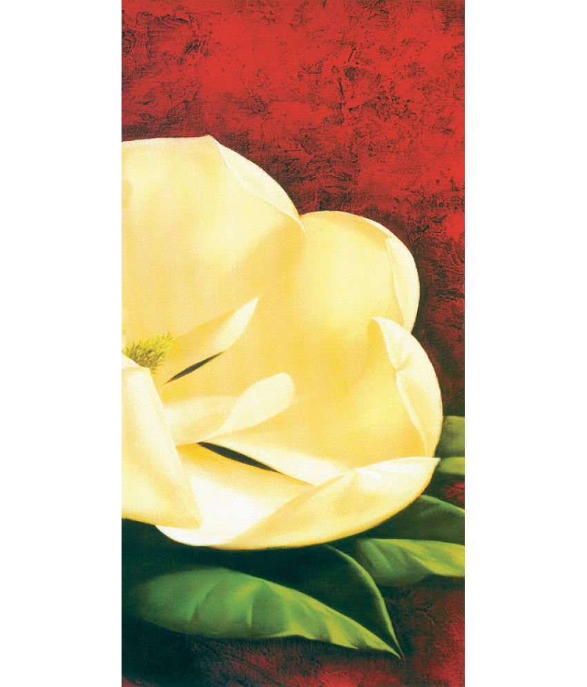 Vitalwalls Floral Paper Art Prints Without Frame Single Piece