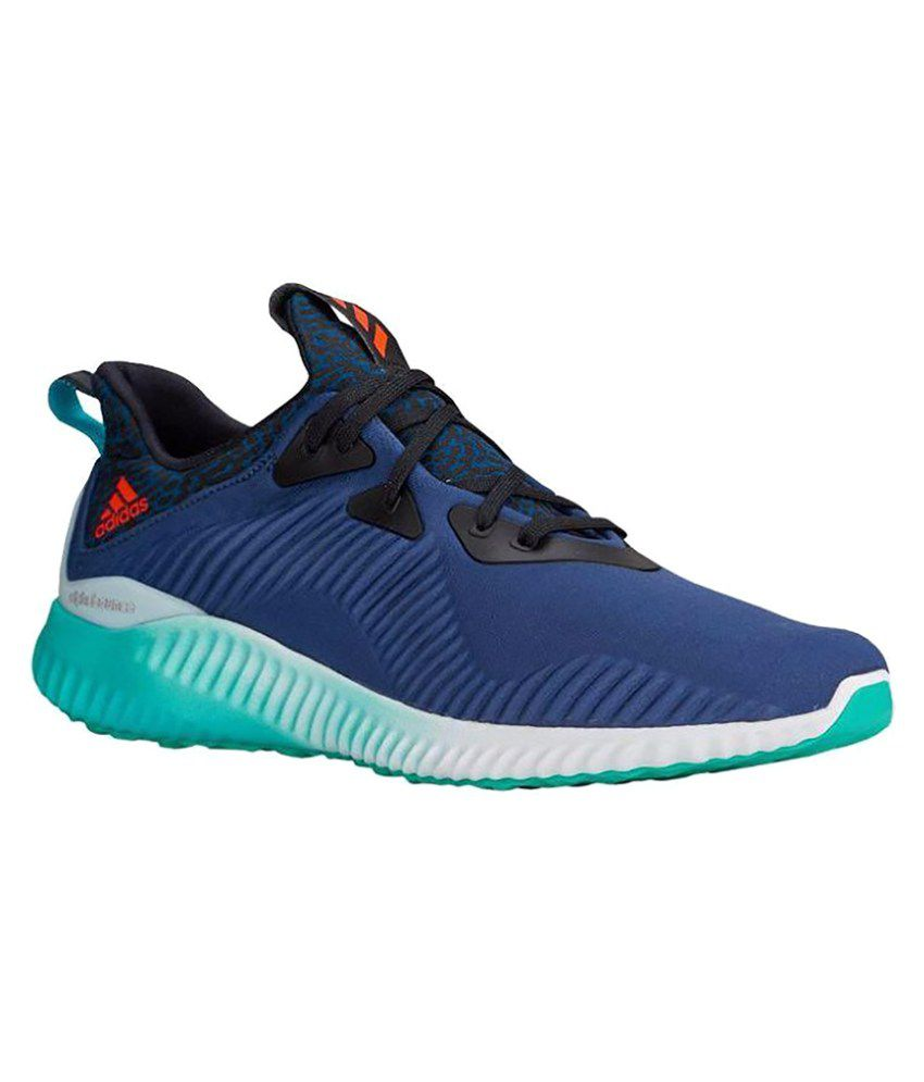 5d1dfa9e1 Adidas ALPHABOUNCE Blue Running Shoes Adidas ALPHABOUNCE Blue Running Shoes  ...