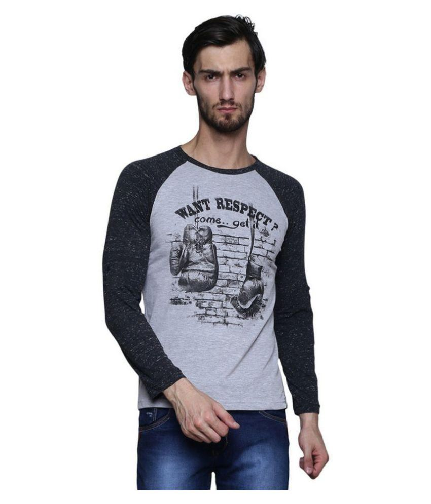 Era of Attitude Grey Round T-Shirt