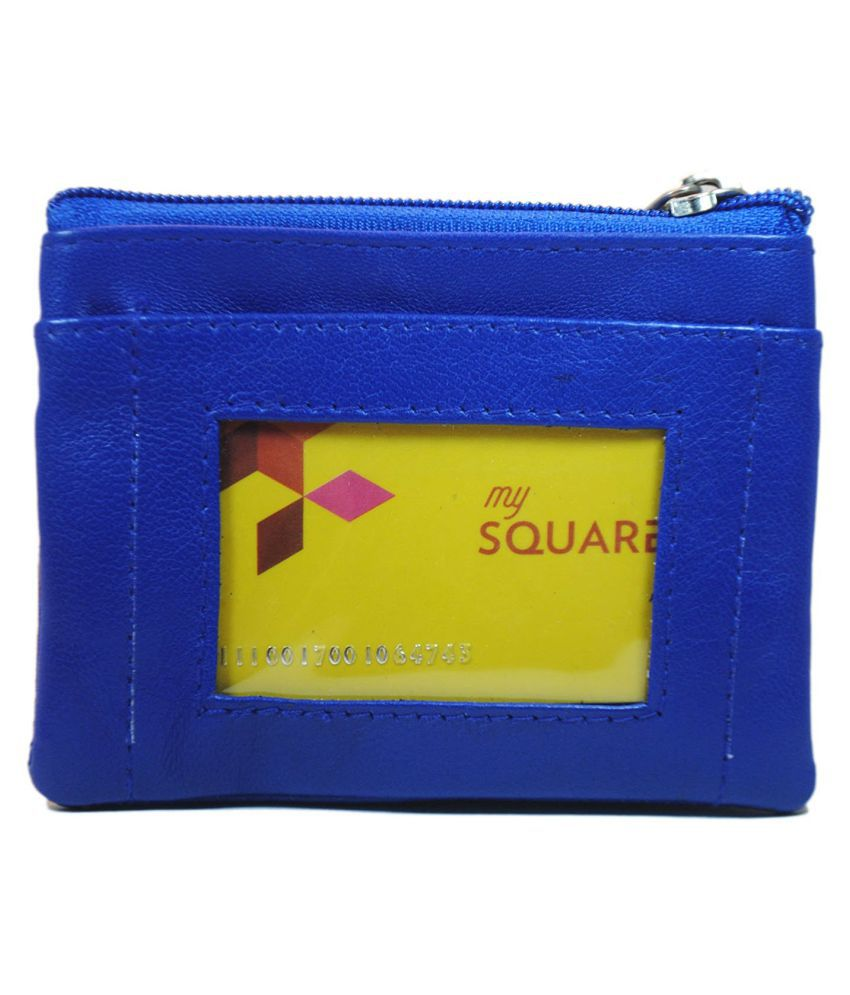 Modish Designs Blue Wallet