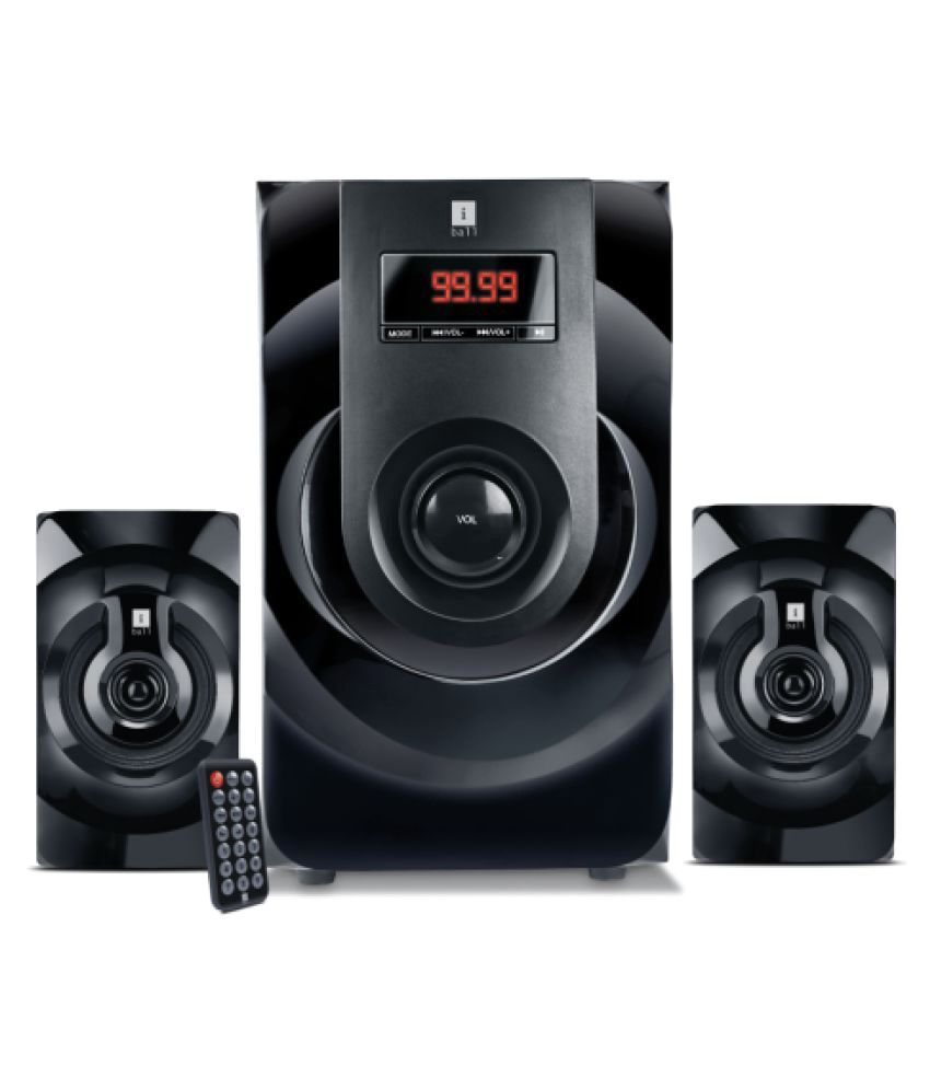 iball MJ-BT9 2.1 Multimedia Speakers