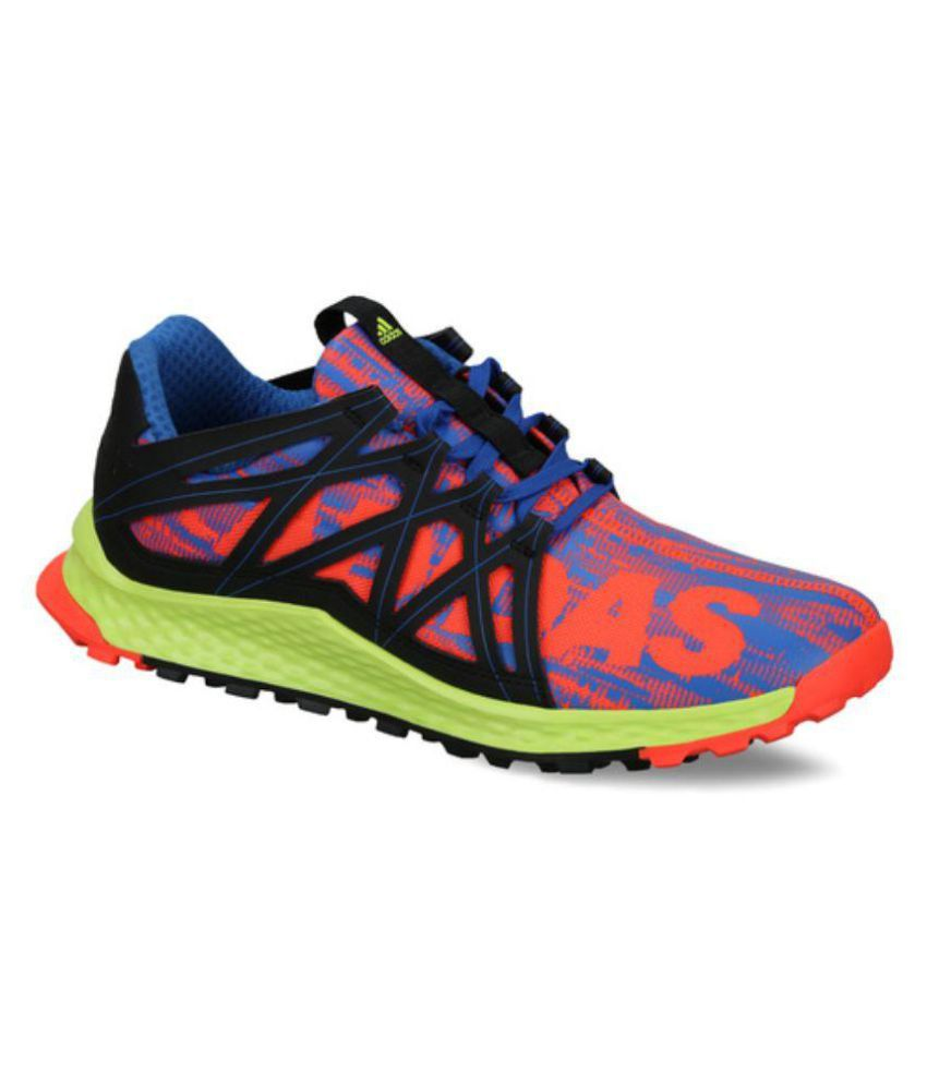 size 40 a5b8d 8990f Adidas Vigor Bounce Multi Color Running Shoes - Buy Adidas Vigor Bounce  Multi Color Running Shoes Online at Best Prices in India on Snapdeal