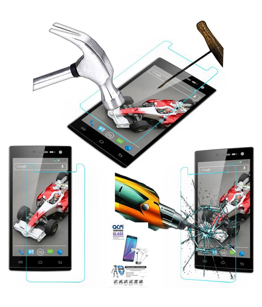 XOLO Q1010i Tempered Glass Screen Guard By Acm