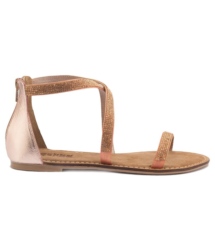 Gekko Shelby Brown Sandals