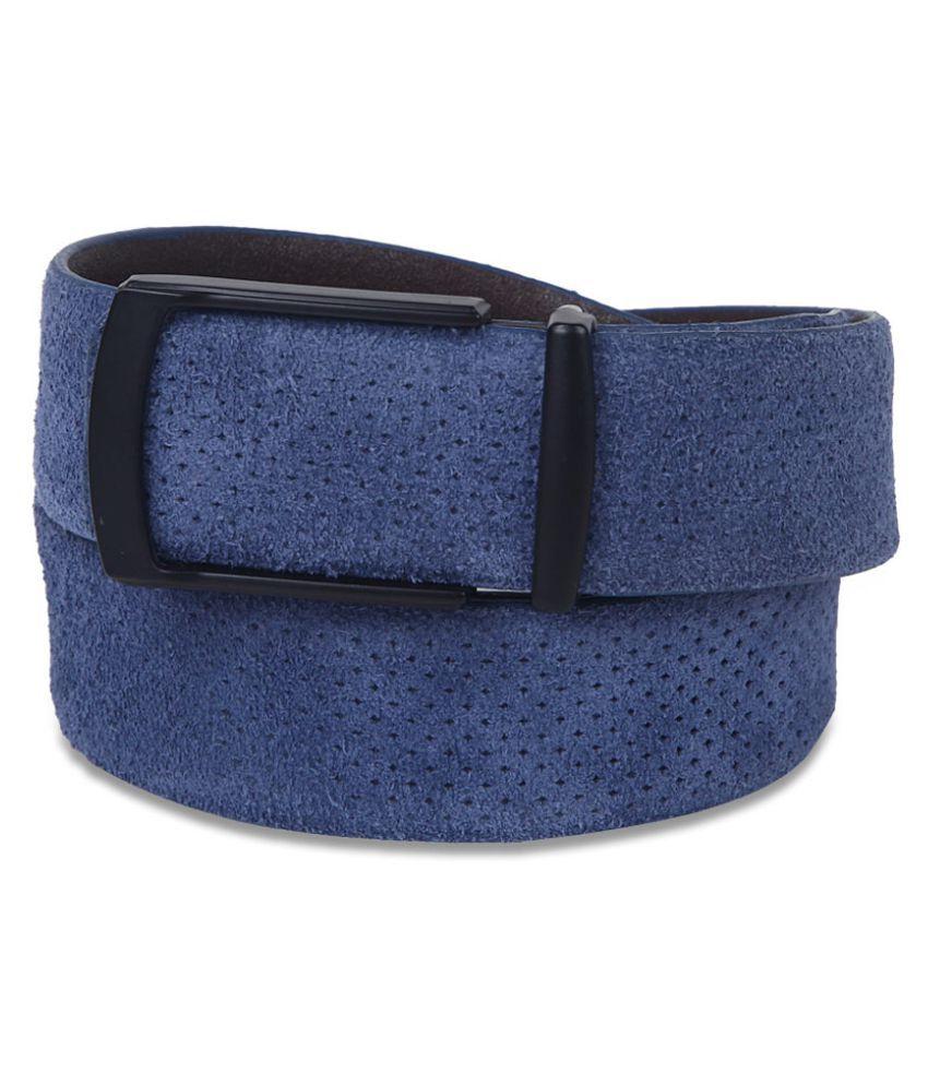 John Players Blue Leather Formal Belts