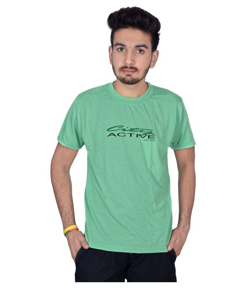Magnus Green Round T-Shirt