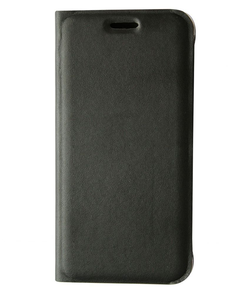 Lenovo A7000 Flip Cover by JKR - Black
