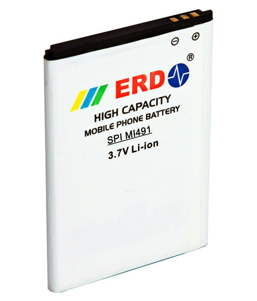 ERD 1200mAh Battery (For Spice Virtuoso Pro Mi-491)