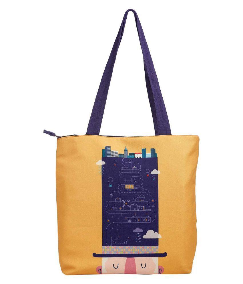 The Crazy Me Multi Canvas Tote Bag