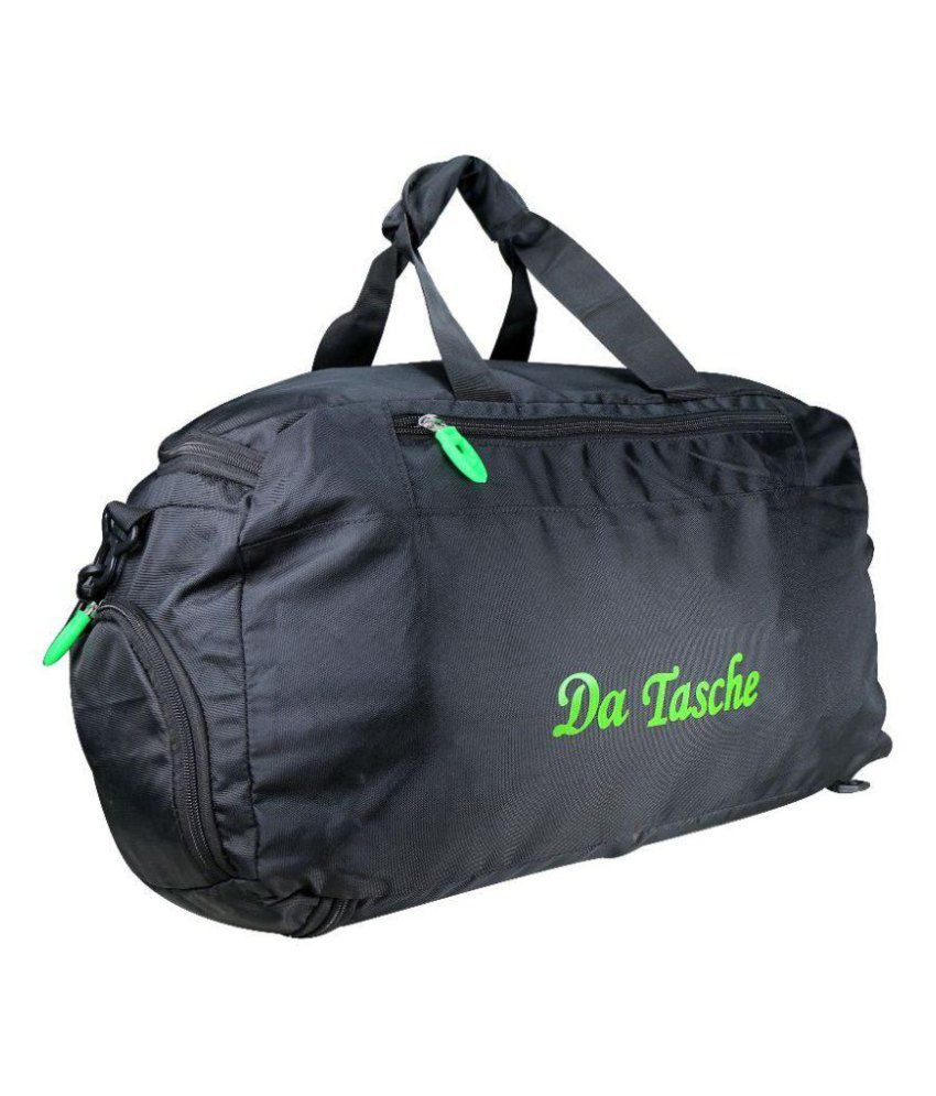 Da Tasche Black Gym Bag