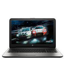 HP 15-bg001AX Notebook (AMD APU A8- 4GB RAM- 1TB- 39.62cm (15.6)- DOS- 2GB Graphics) (Silver)