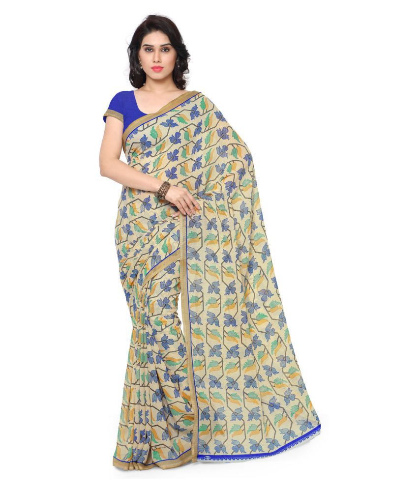 Anand Sarees Multicoloured Bhagalpuri Silk Saree