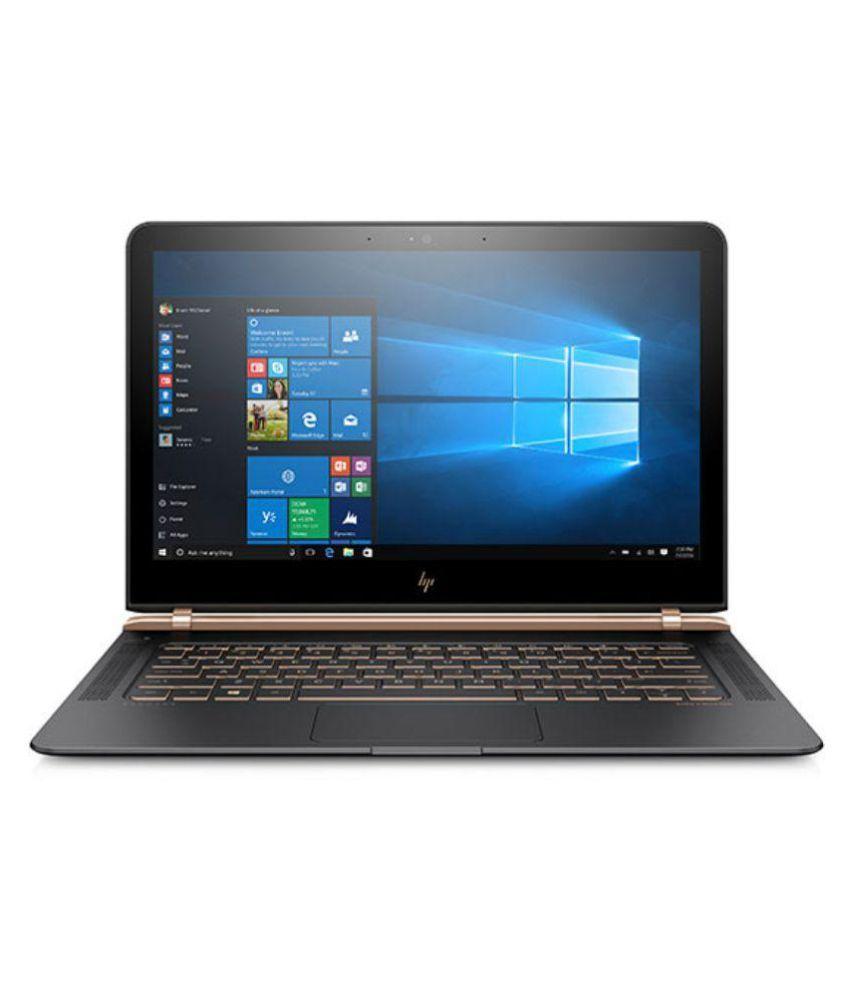 HP Core i7 7th Gen - (8 GB/512 GB SSD/Windows 10 Home) 13-V122TU Thin and Light Laptop(13.3 inch, Dark Ash SIlver, 1.1 kg) Spectre