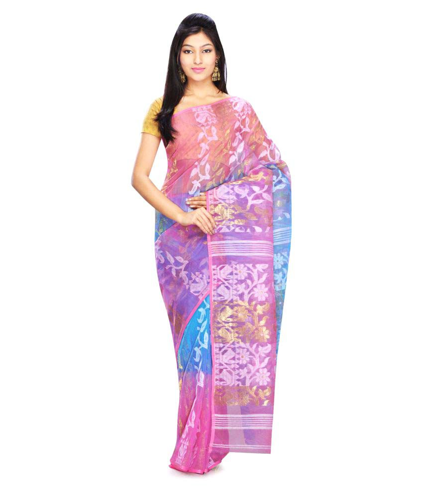 Rudrakshhh Multicoloured Cotton Saree