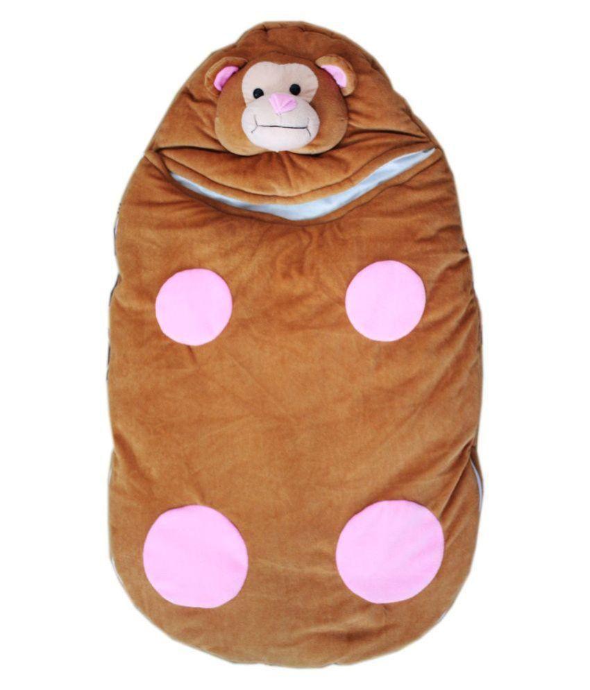 Baby Brown Cotton Sleeping Bag