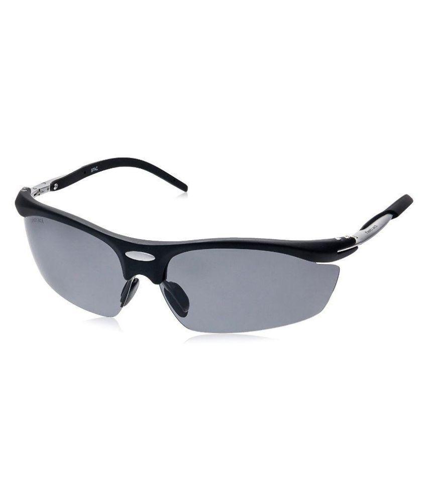 Fastrack Black Wrap Around Sunglasses ( P208BK2P )
