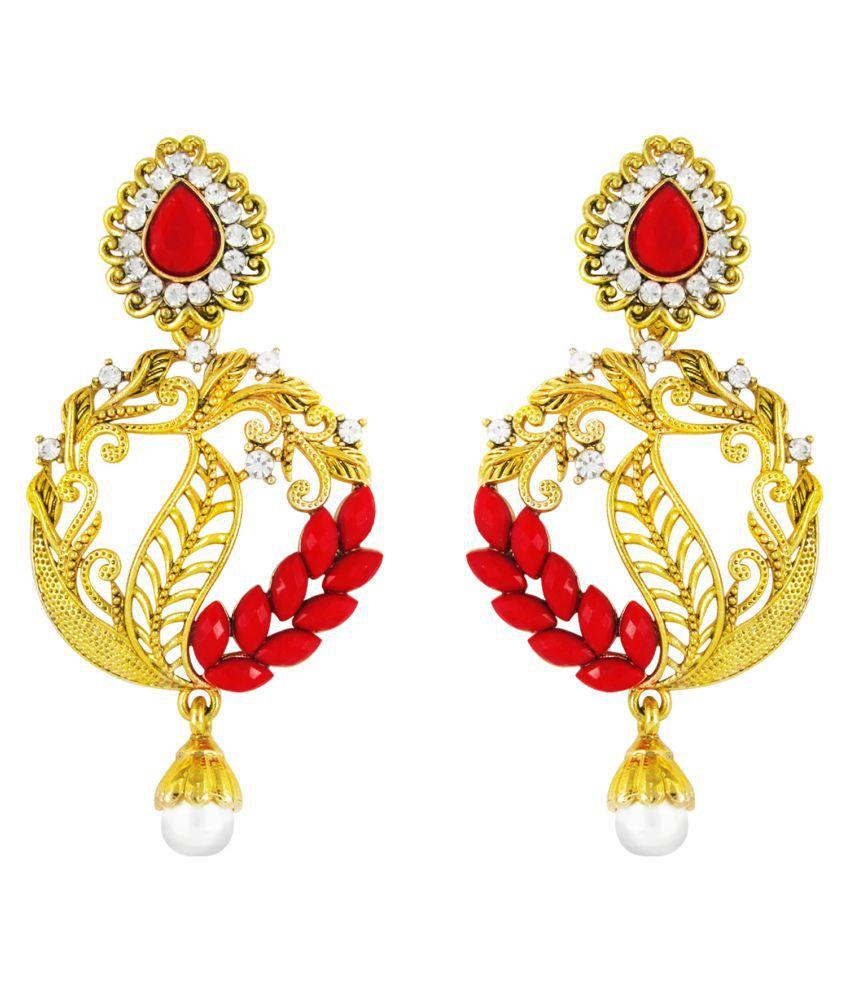 Parisha Myulticolor Hanging Earrings