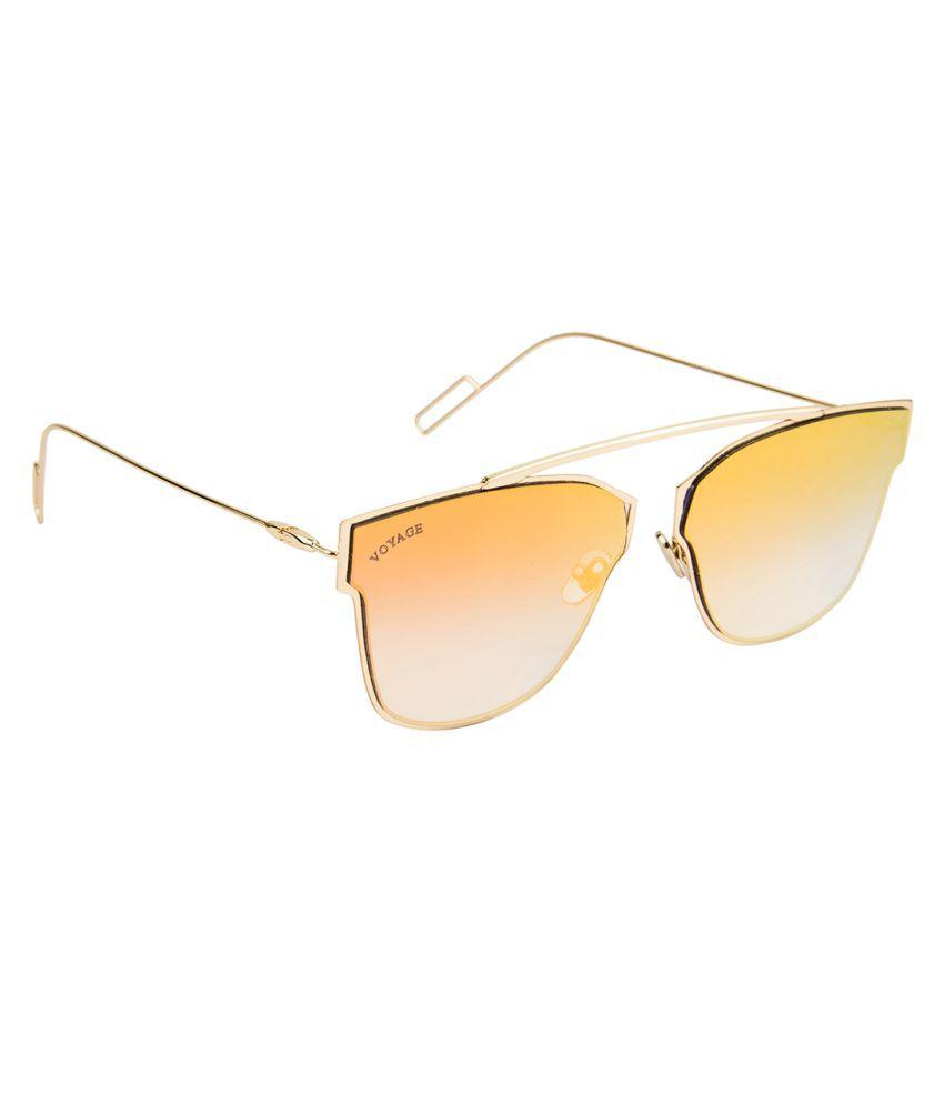 Voyage Golden Cat Eye Sunglasses ( 1096MG1460 )