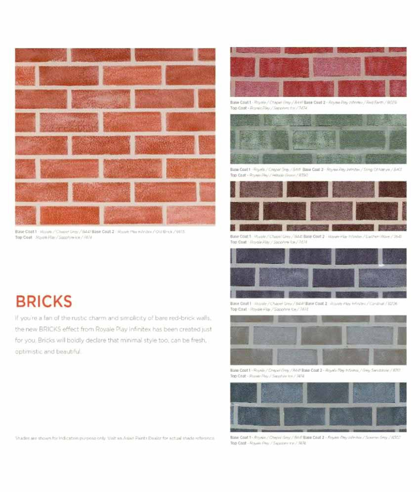 buy asian paint wall makeover service royale play infinitex bricks rh snapdeal com