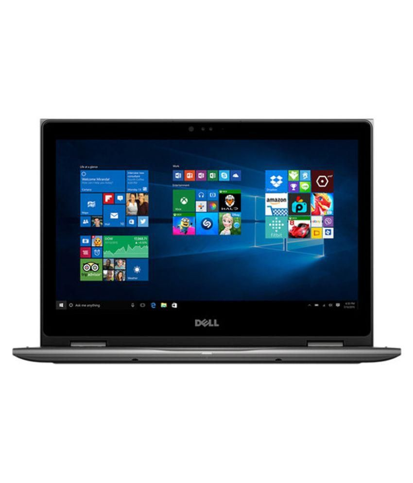Dell Inspiron 5368 2-in-1 Notebook (6th Gen Intel Core i3- 4 GB RAM- 1TB HDD- 33.78 cm (13.3) Touch -WIN 10) (Grey)