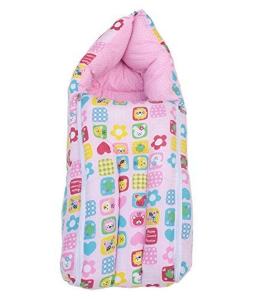 Baby Joys Baby Sleeping Bag Cum Baby Carry Bag Collage